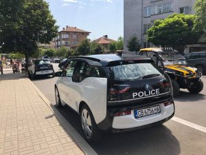 BMW i3 за Полицията в Царево
